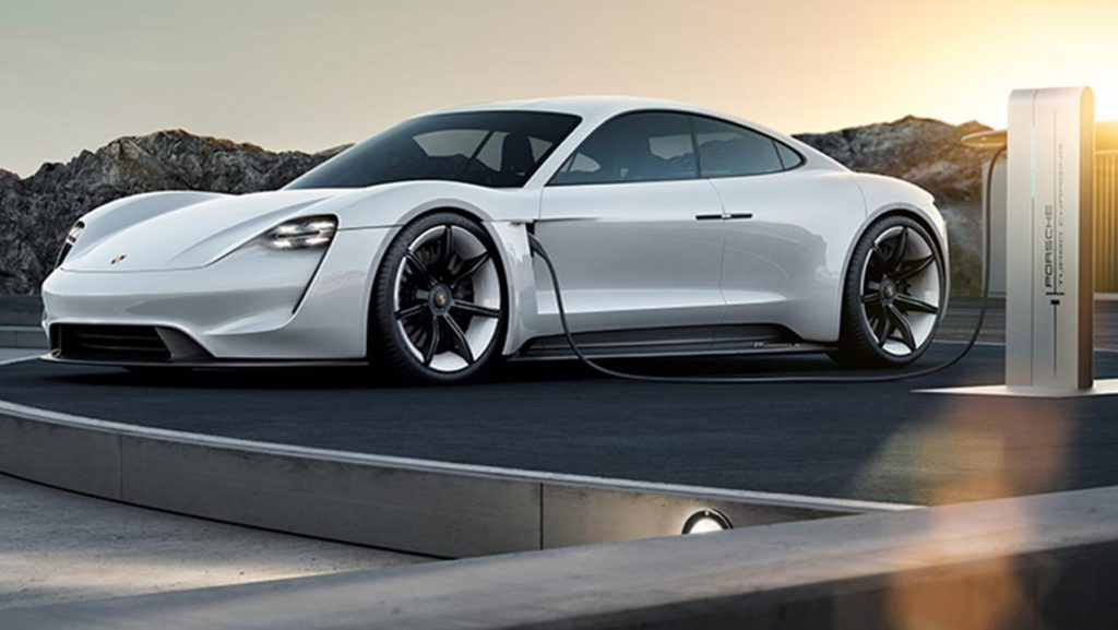 Porsche Taycan electric car