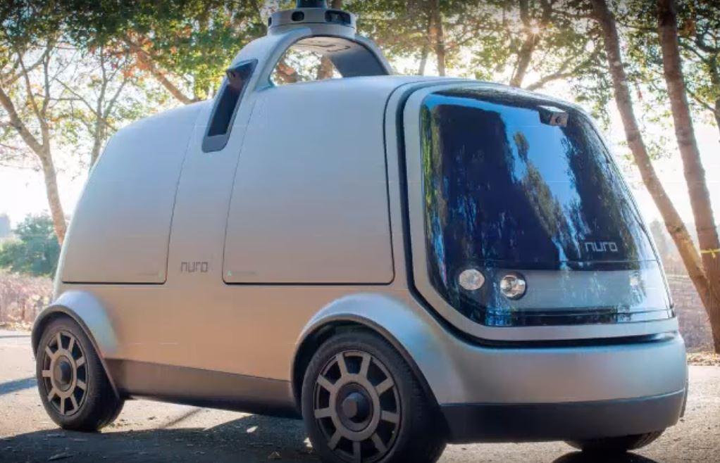 Nuro автономный автомобиль доставки товаров от бывших инженеров Google