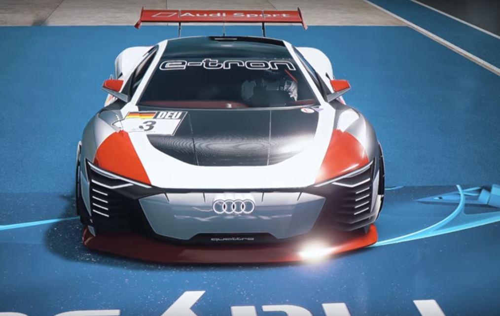 Audi e-tron Vision Gran Turismo из игры в реальность