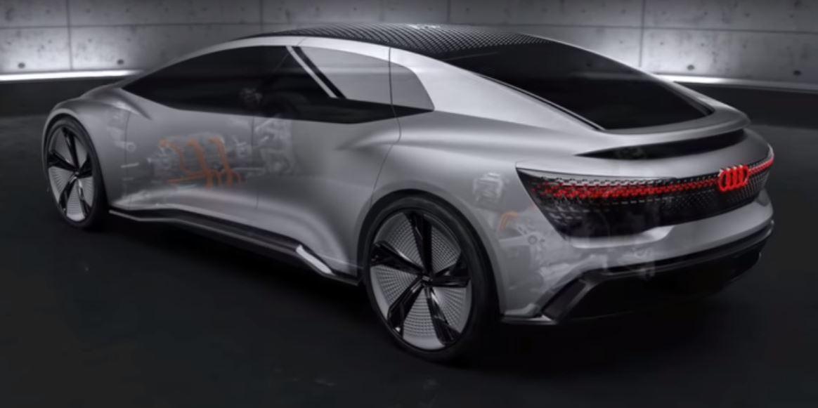 Концепция электромобилей Audi Aicon