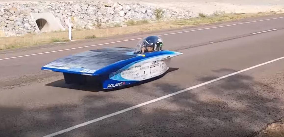 Специфические электромобили от студентов