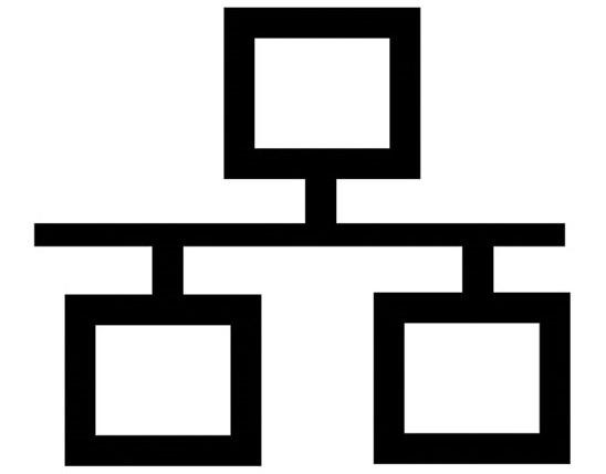 Структурная схема сети Ethernet внутри автомобиля
