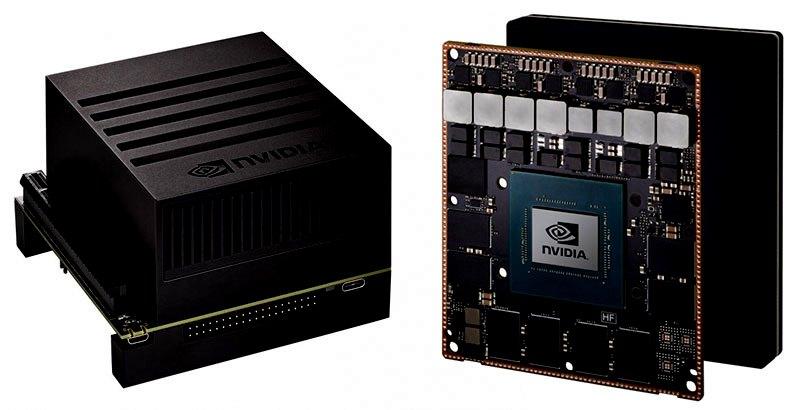 Комплект разработчика Jetson AGX Xavier предназначен для применения в роботизированных и компактных машинных приложениях