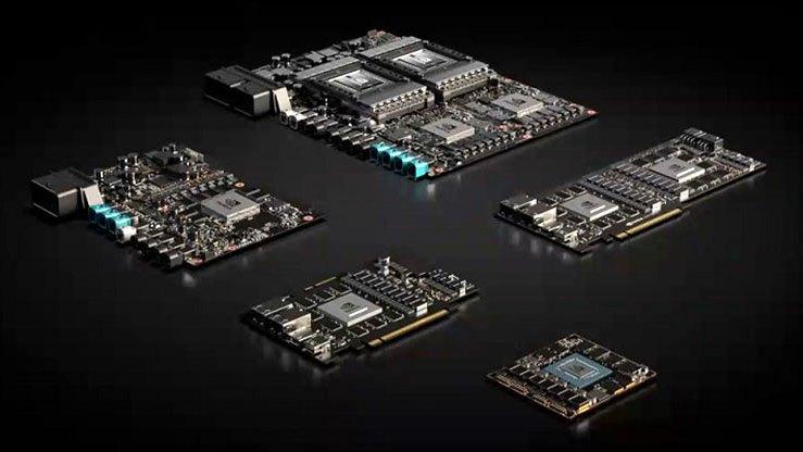 Линейка NVIDIA AGX обеспечивает ускорение TensorRT для автомобильных приложений