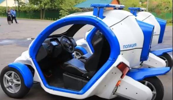 Электромобиль Овум был передан полиции