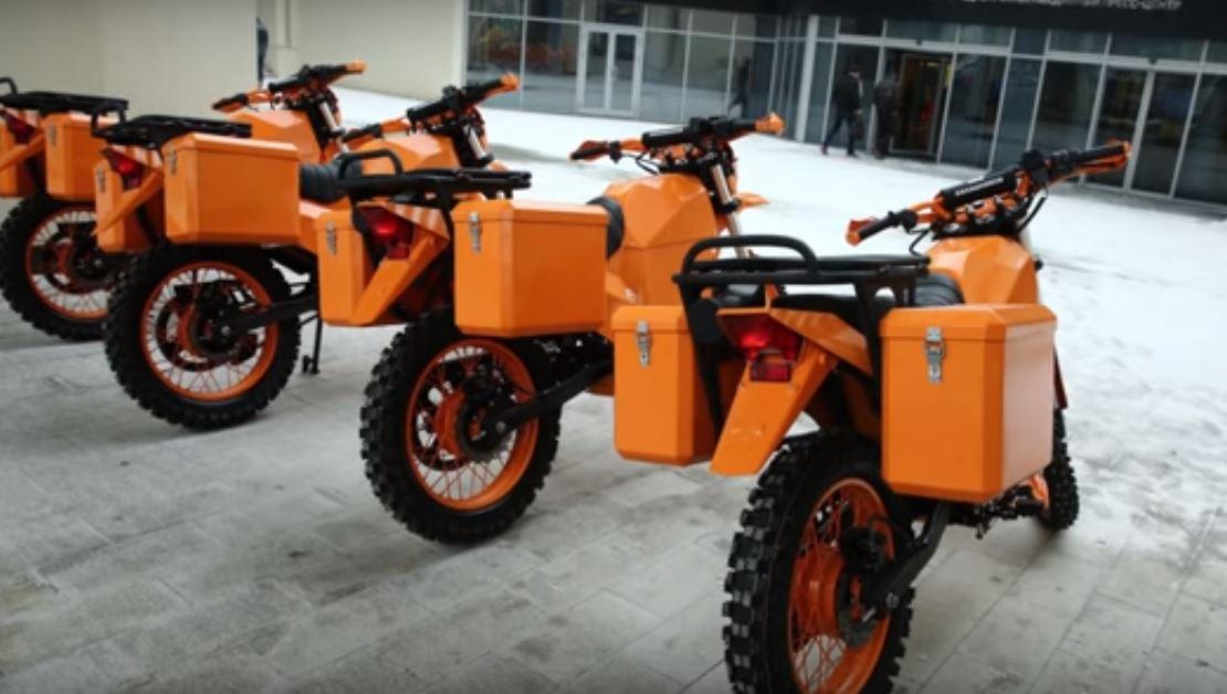 Мотоциклы ИЖ Пульсар имеет модификации как для силовых структур, так и для обычных пользователей