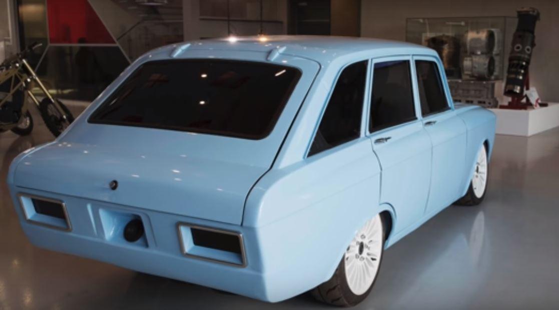 Представлен новый российский электромобиль Калашников CV-1