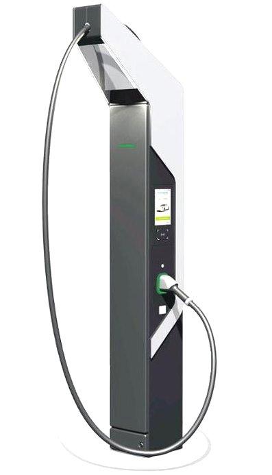 Зарядная станция с жидкостным охлаждением компонентов способна передавать больше энергии при меньших габаритах