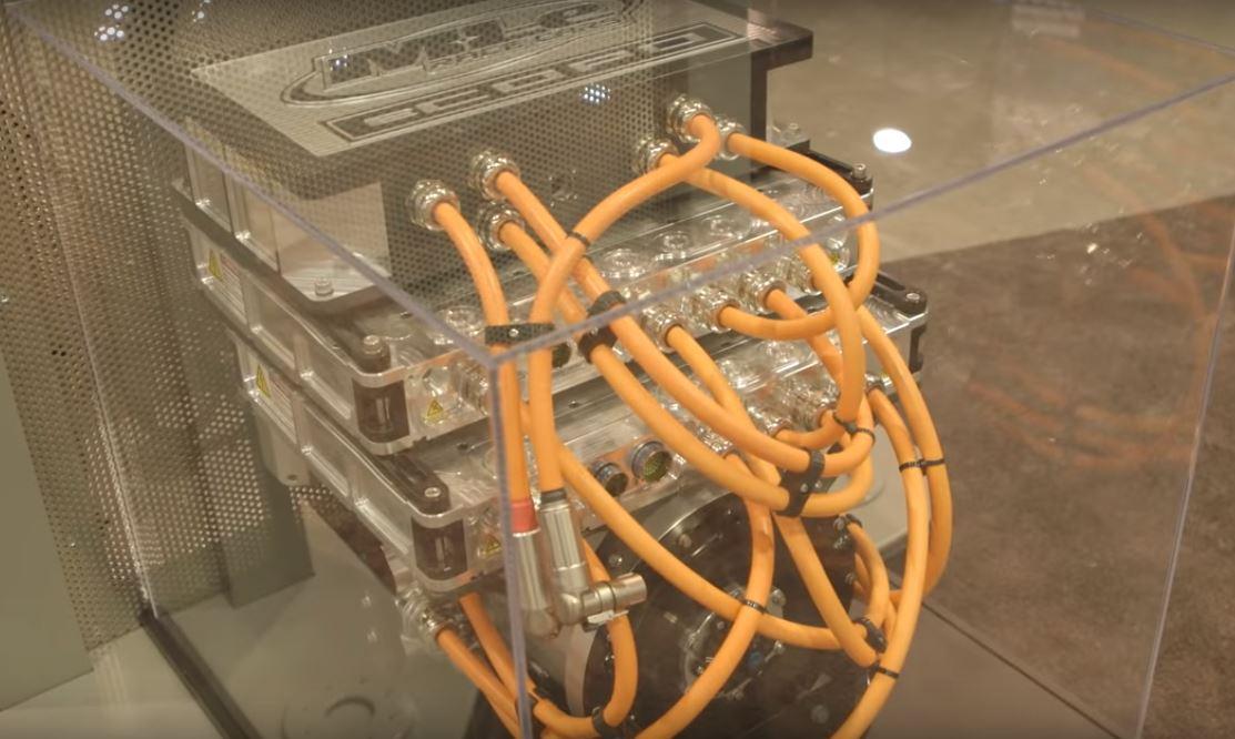 Электродвигатель eCOPO полностью совместим с трансмиссией и ходовой частью бензинового аналога