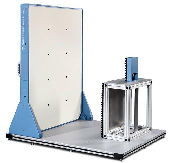 Система QAR от Rohde & Schwarz позволяет оценивать характеристики автомобильных обтекателей в диапазонах 77 и 79 ГГц