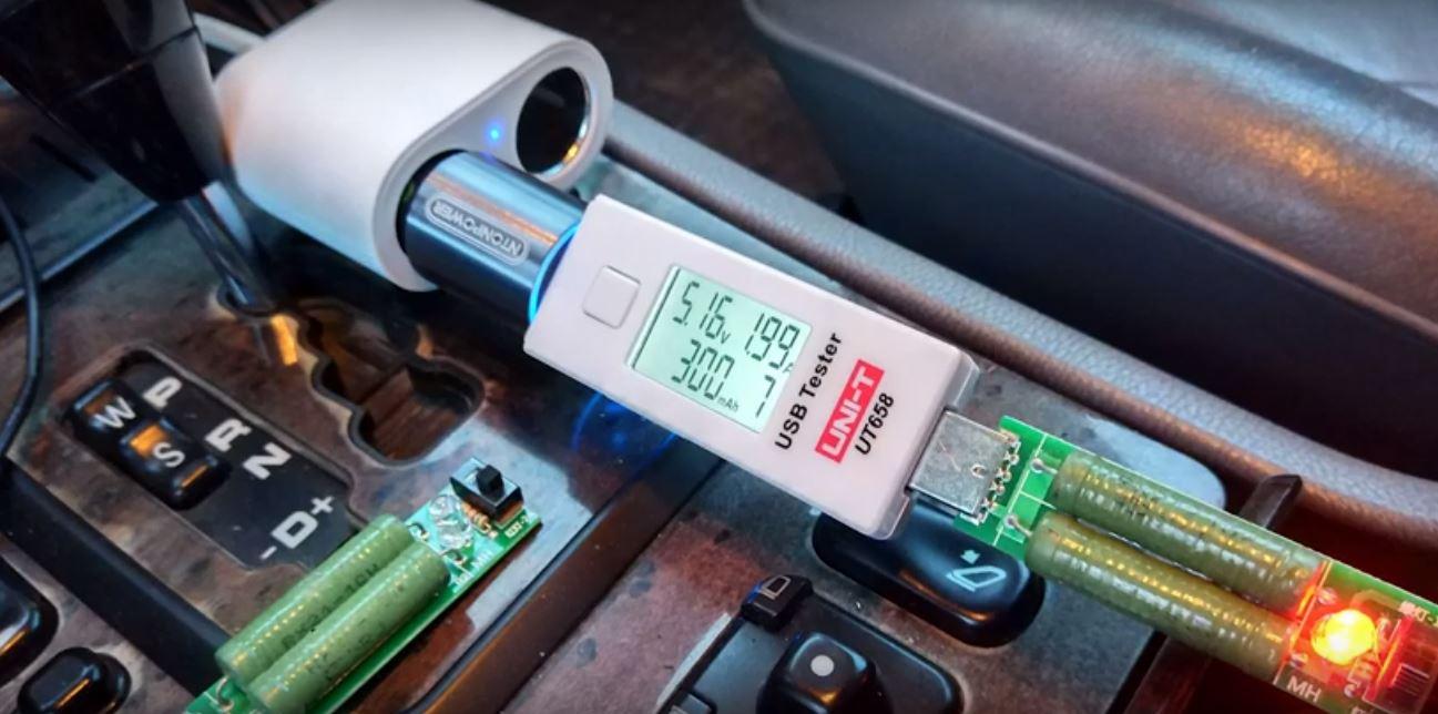 Портативная зарядка на основе USB Type C значительно упростит зарядку гаджетов в автомобиле