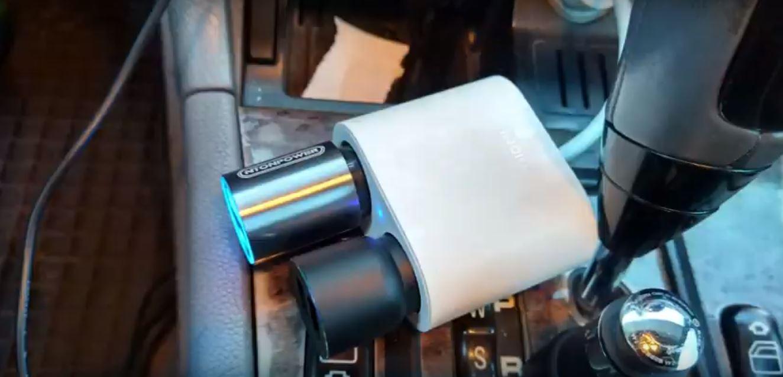 USB Type C для зарядки портативных устройств в автомобиле
