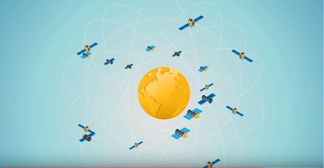 Глобальная навигационная спутниковая система (GNSS) состоит из нескольких различных созвездий с десятками спутников, вращающихся вокруг планеты. Автономное транспортное средство должно соединиться как минимум с тремя, чтобы успешно триангулировать его положение.