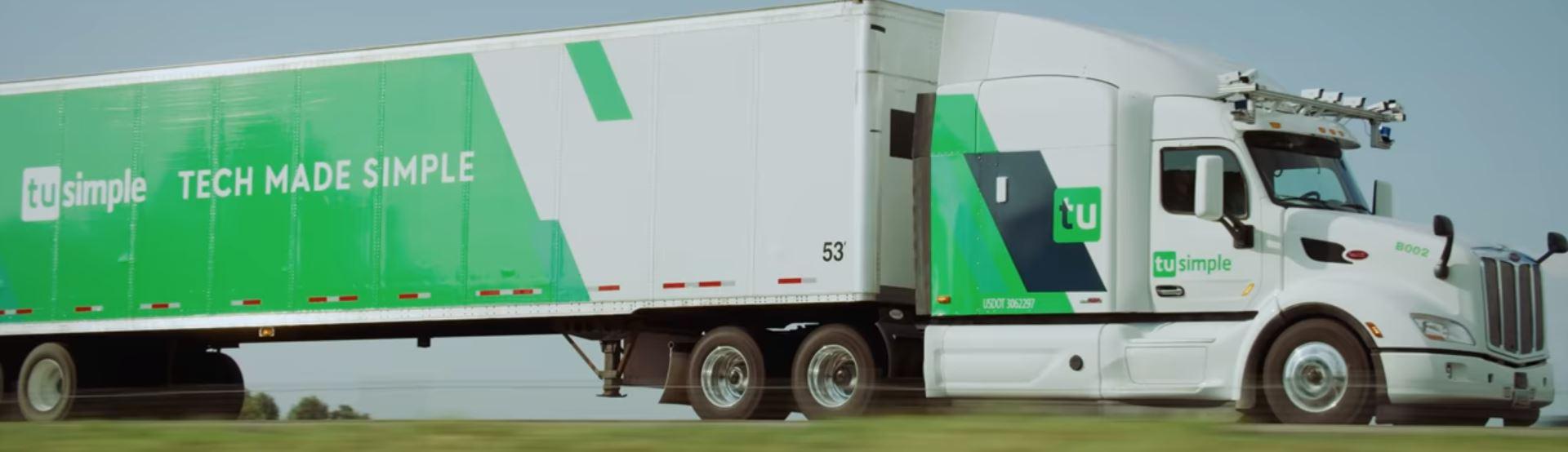 Успешное испытание автономного грузовика от TuSimple для почтового сервиса США может повысить полезное время работы одного грузовика до 20 часов в сутки