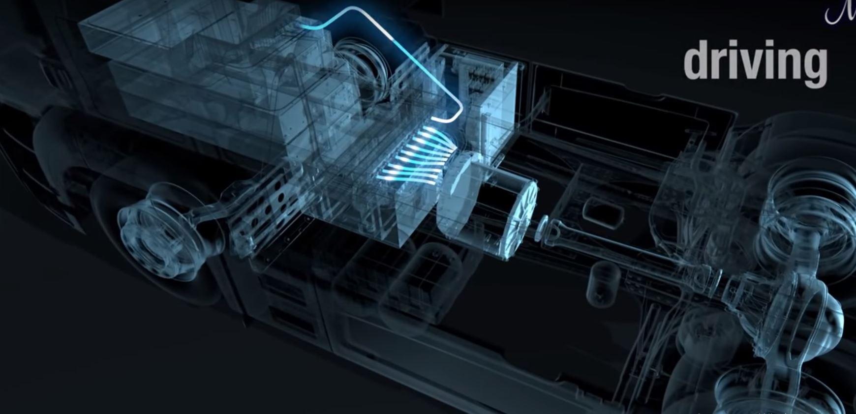 Замена дизельного двигателя тягача на электрический возможна уже в скором будущем