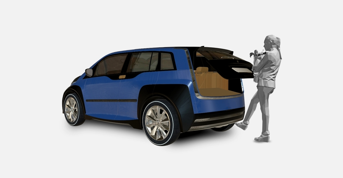 Открывание дверей автомобиля с помощью касания или дистанционно