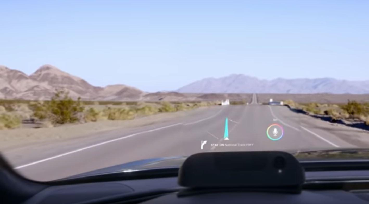 Проекционные дисплеи должны иметь достаточный уровень затемнения для нормального отображения данных водителю и пассажирам