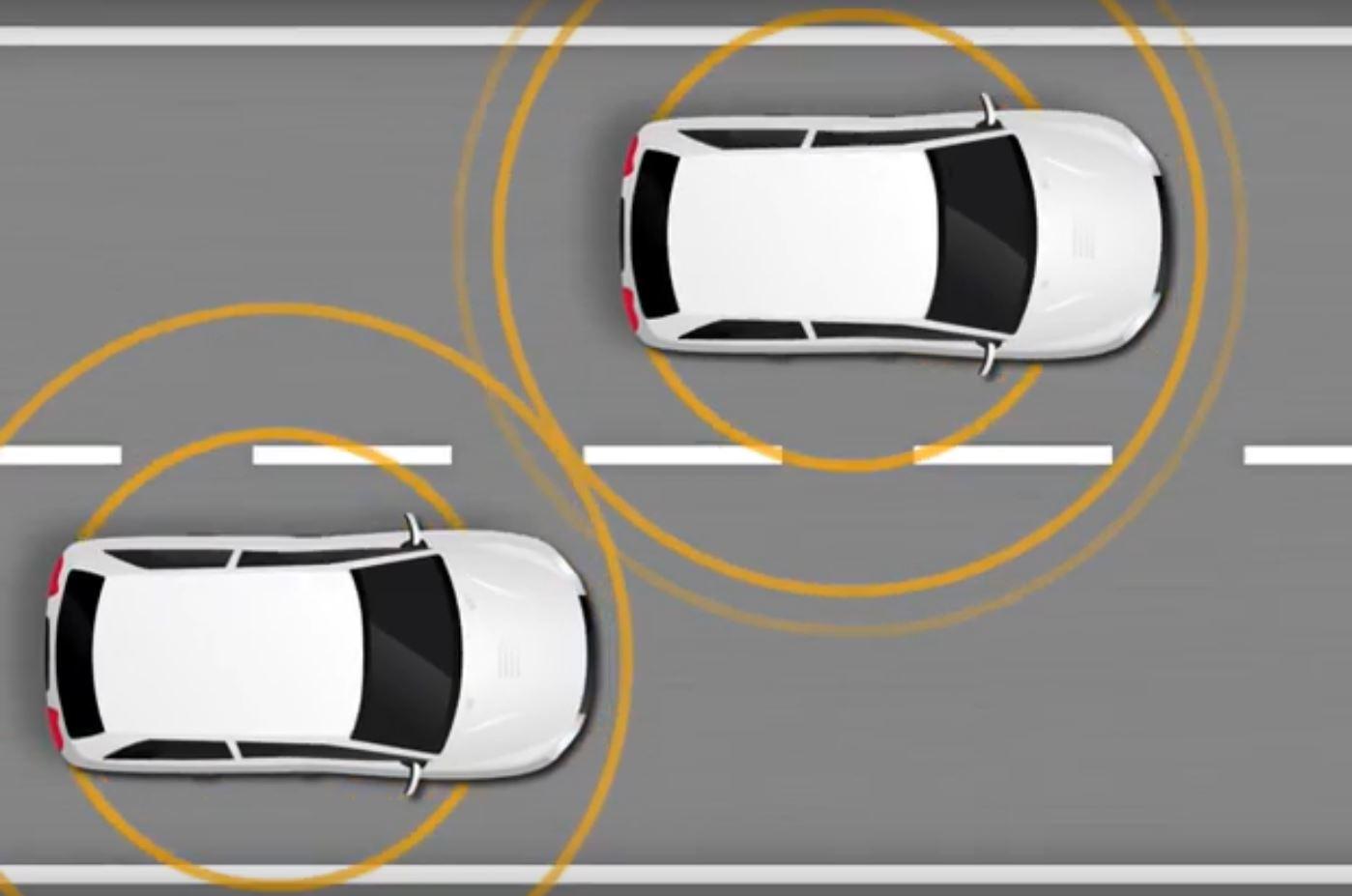 Беспилотные автомобили обмениваются данными друг с другом для избежания столкновений