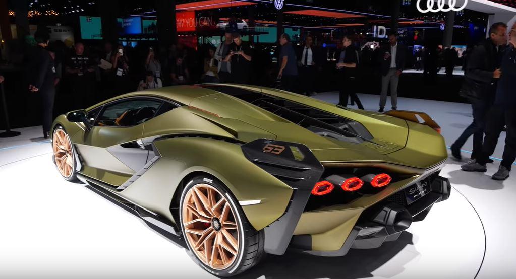 Lamborghini Sián использует революционную технологию для гибридных авто суперконденсаторные батареи