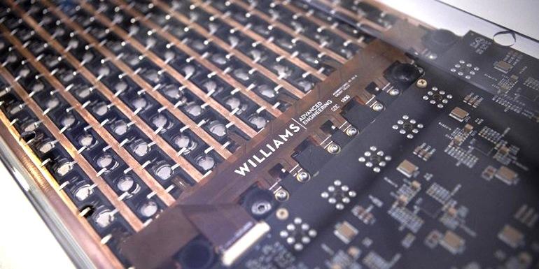 Новый аккумуляторный блок Adaptive Multi-Chem от William Advanced Engineering основан на опыте компаний Формула-1 и Формула E (гонки на электромобилях)