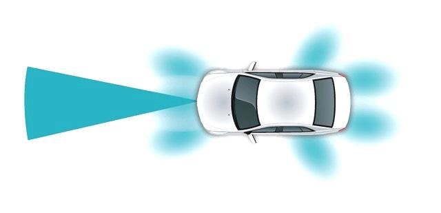 Многочисленные радиолокационные датчики станут частью быстроразвивающихся автомобильных электронных систем безопасности, которые также будут включать в себя камеры и оптические датчики