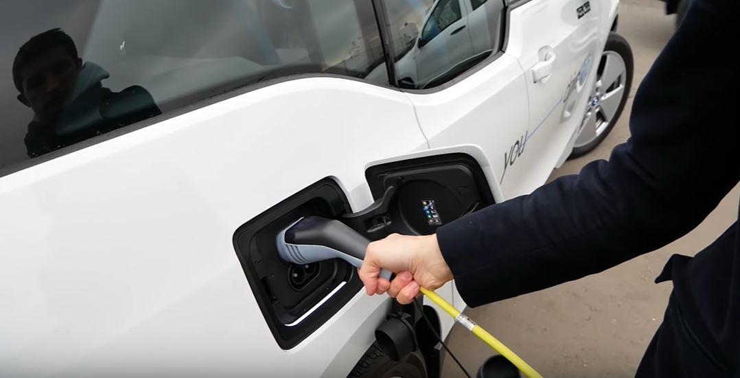Зарядка электромобилей BMW Mini производимых в Китае