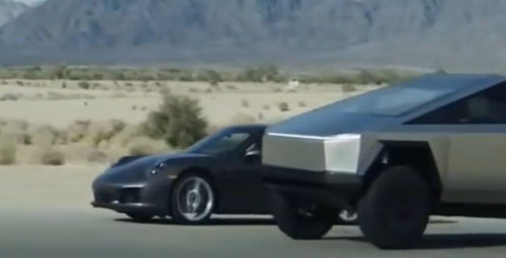 Tesla Cybertruck разгоняется до 100 км в час всего за 2.9 секунды