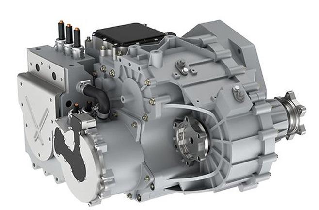 Новая гибридная трансмиссия использует электродвигатель для уменьшения количества механических деталей в коробке передач