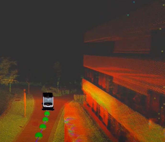 Избыточное количество датчиков позволяет автономным автобусам Bosch продолжать движение при выходе из строя одного из них