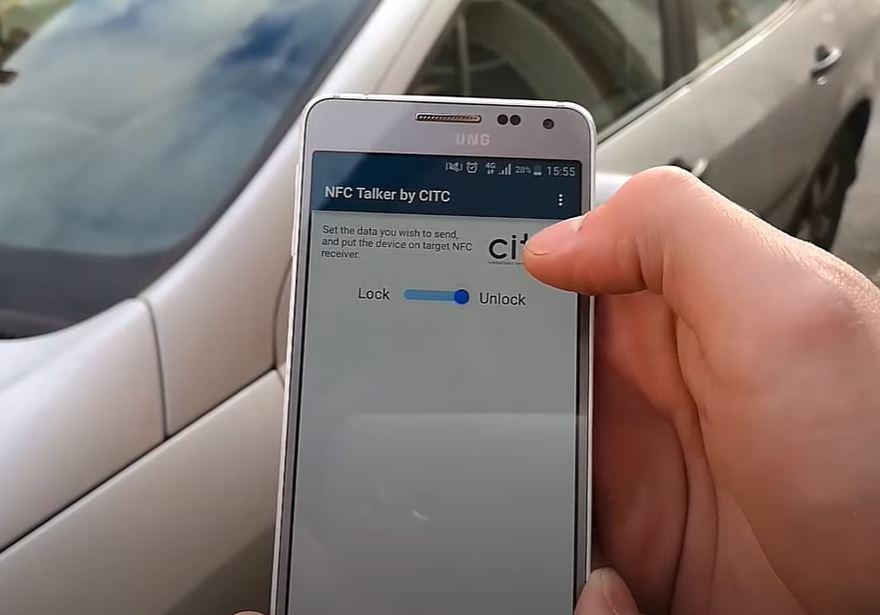 NFC ключ для автомобилей может значительно упростить доступ к автомобилю для семьи и друзей