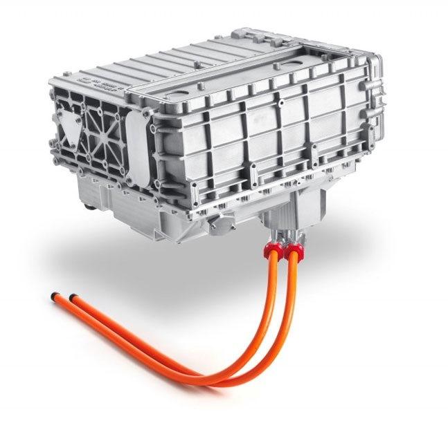 Показан блок топливных элементов в прототипе BMW FHEV