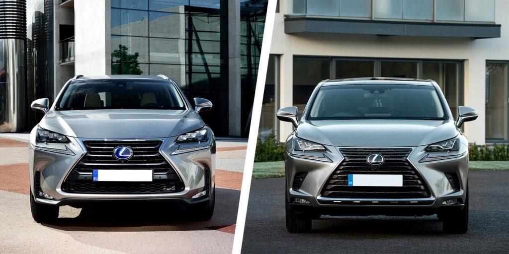 Фейслифтинг современного автомобиля Lexus-NX