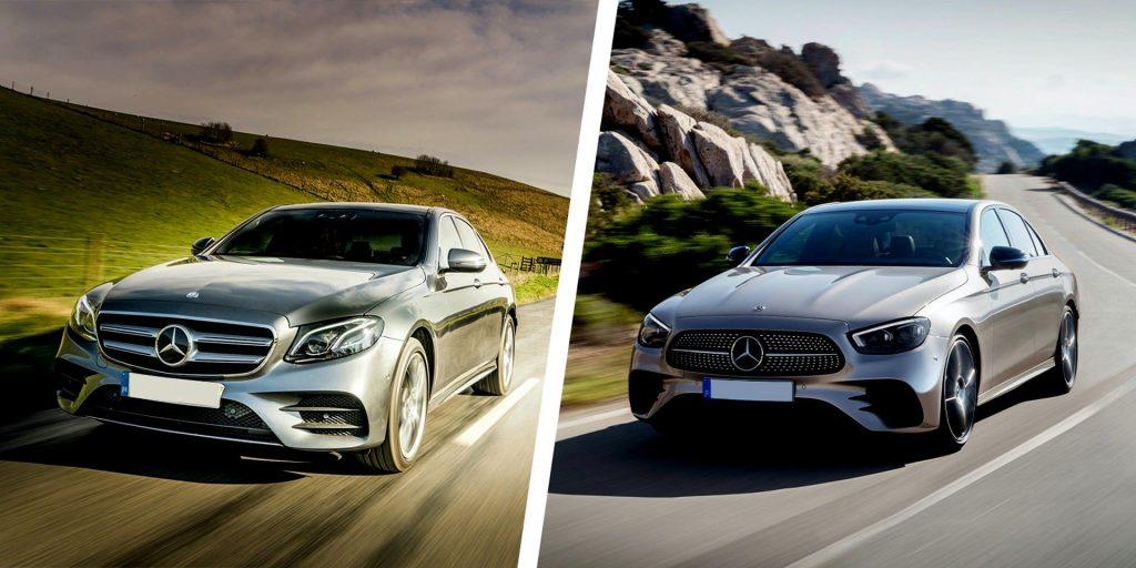 Не всегда можно легко отличить автомобиль после фейслифтинга