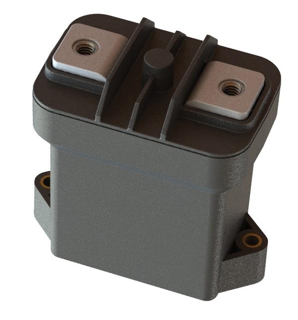 Предохранитель Sensata GigaFuse, предназначенный для электромобилей, представляет собой быстродействующее электромеханическое устройство с низким тепловыделением