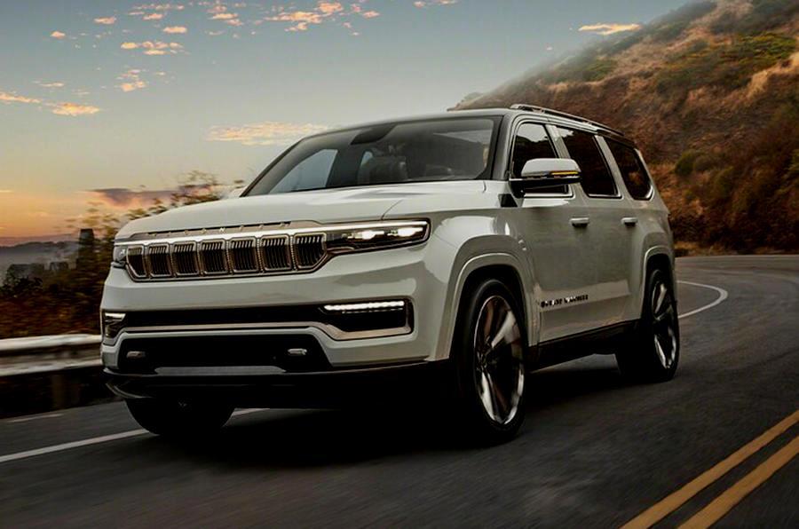 Jeep Grand Wagoneer новый концепт кар компании, который пополнит линейку авто класса лакшери