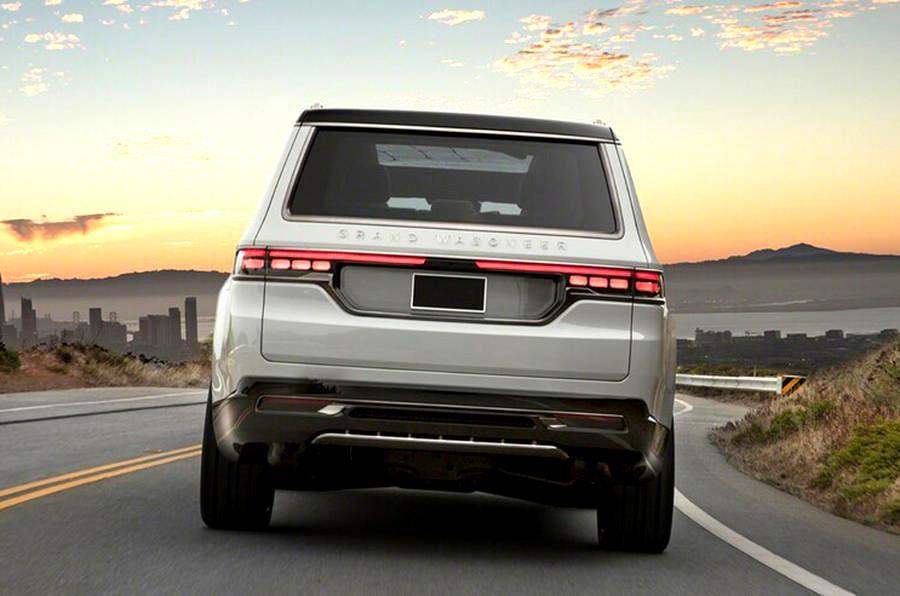Jeep Grand Wagoneer новый подход к старым моделям