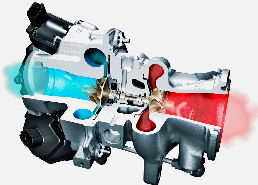 Радиально-осевой (RAAXTM) турбокомпрессор Continental