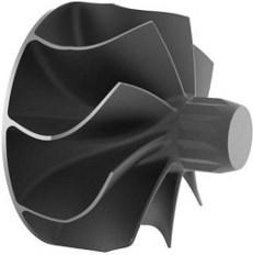 Турбинное колесо турбокомпрессора