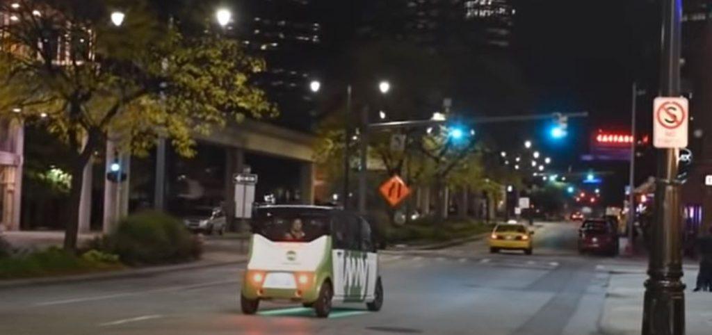 На улицах США курсирует автономный автомобиль от May Mobility