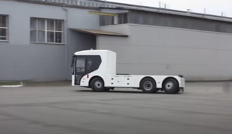 Полностью электрические грузовики врываются на рынок электрокаров