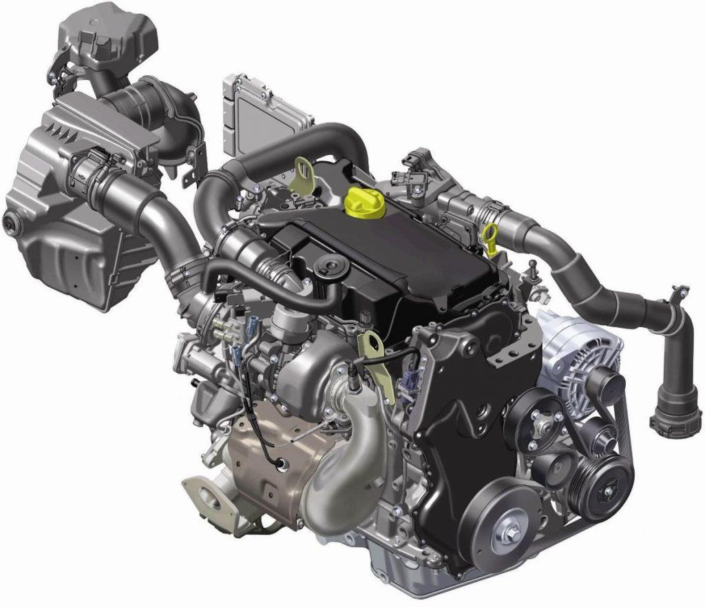 Двигатель Renault 1.6 dCi (микро гибрид)