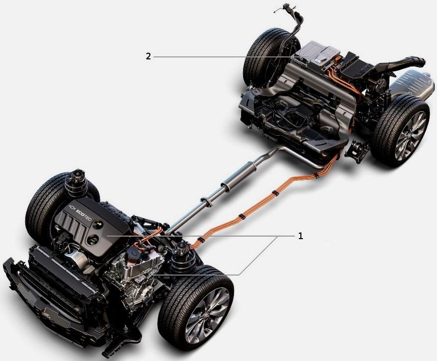 Гибридная трансмиссия Chevrolet Malibu