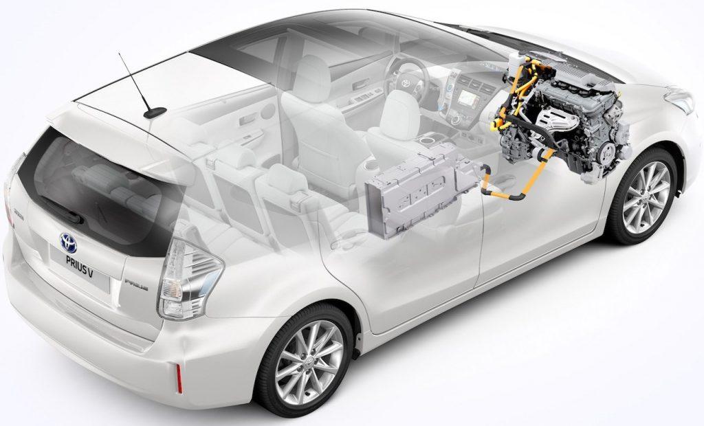 Гибридная трансмиссия Toyota Prius V