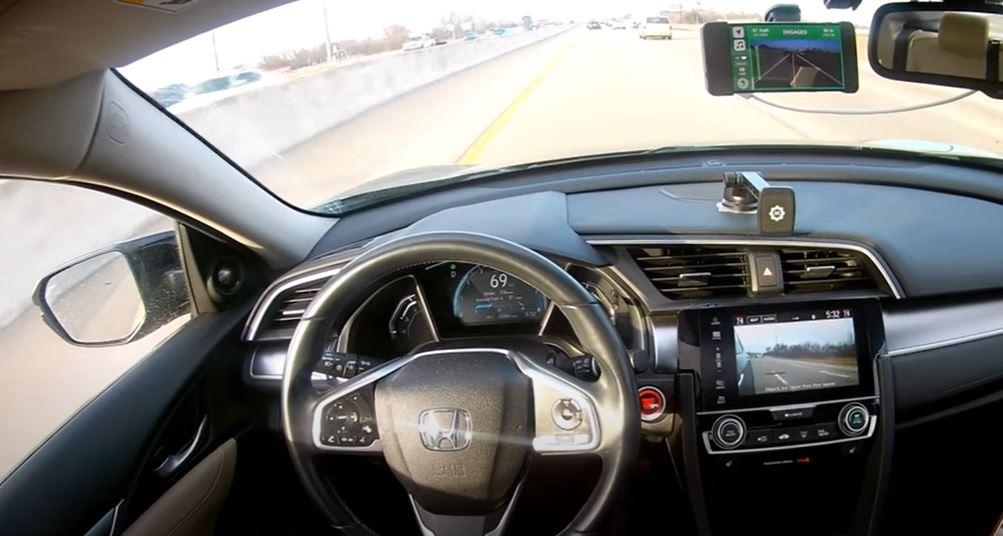 Traffic Jam Pilot от Honda первый в мире общедоступный автономный автомобиль на дорогах общего пользования