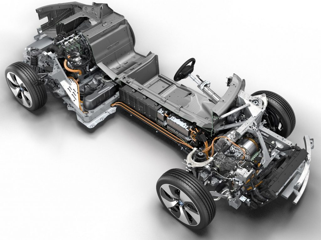 Трансмиссия BMW i8 (плагин гибрид)