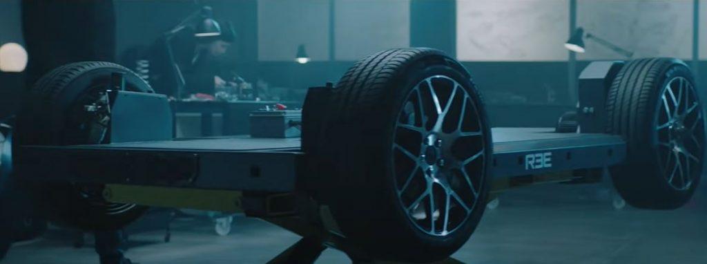 Платформы электромобилей REE предназначены для коммерческих автофургонов с низким центром тяжести - 360 градусов