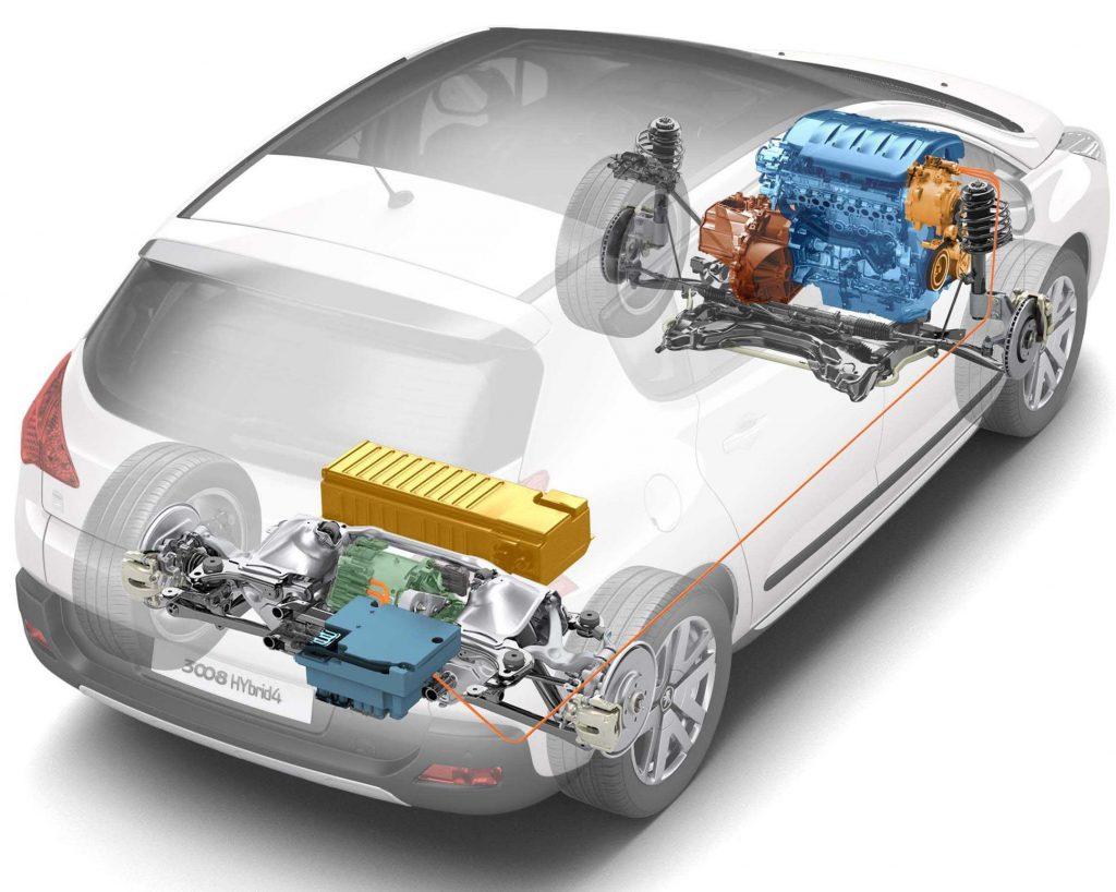 Гибридная трансмиссия Peugeot 3008