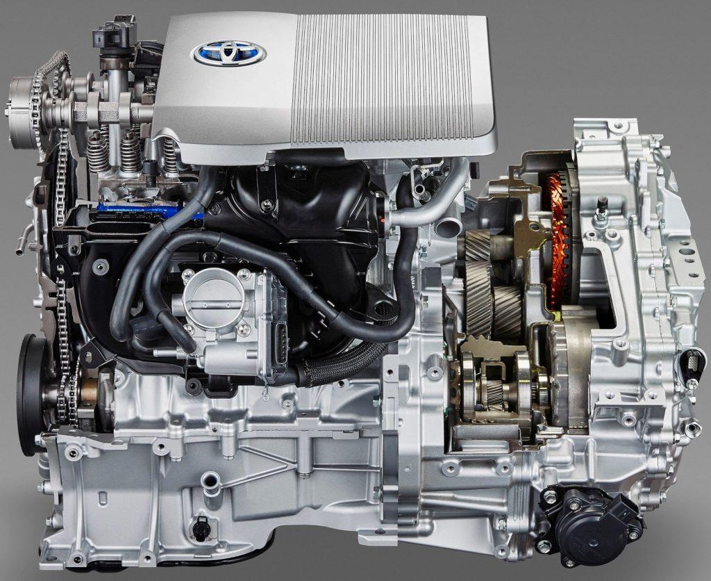Гибридная трансмиссия Toyota рисунок 1