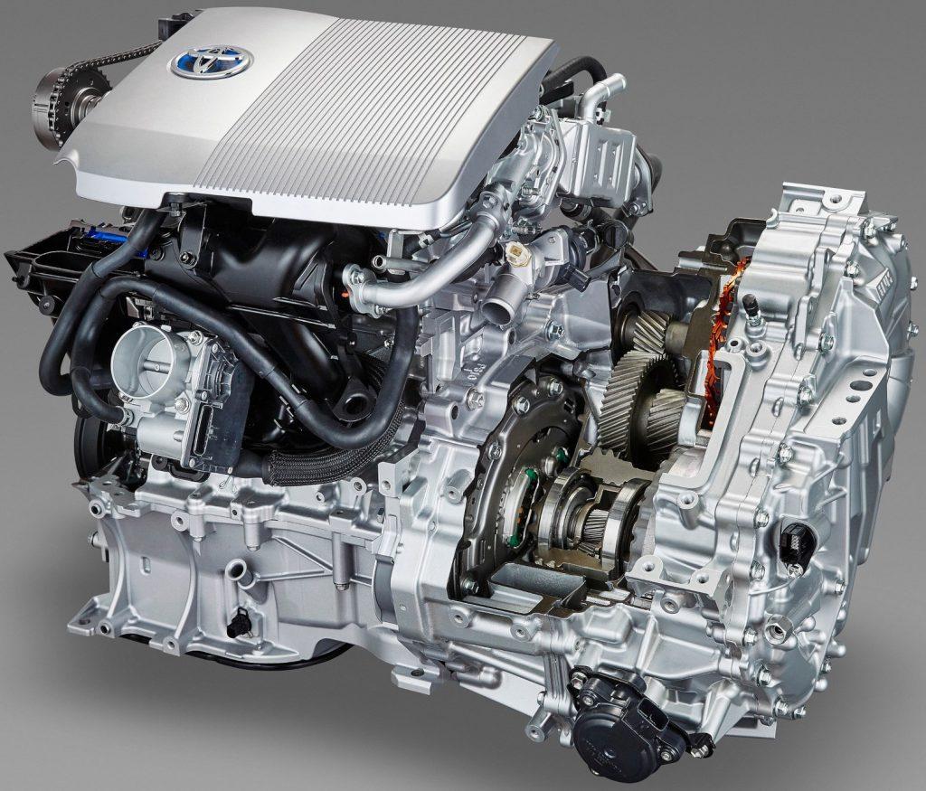 Гибридная трансмиссия Toyota рисунок 2