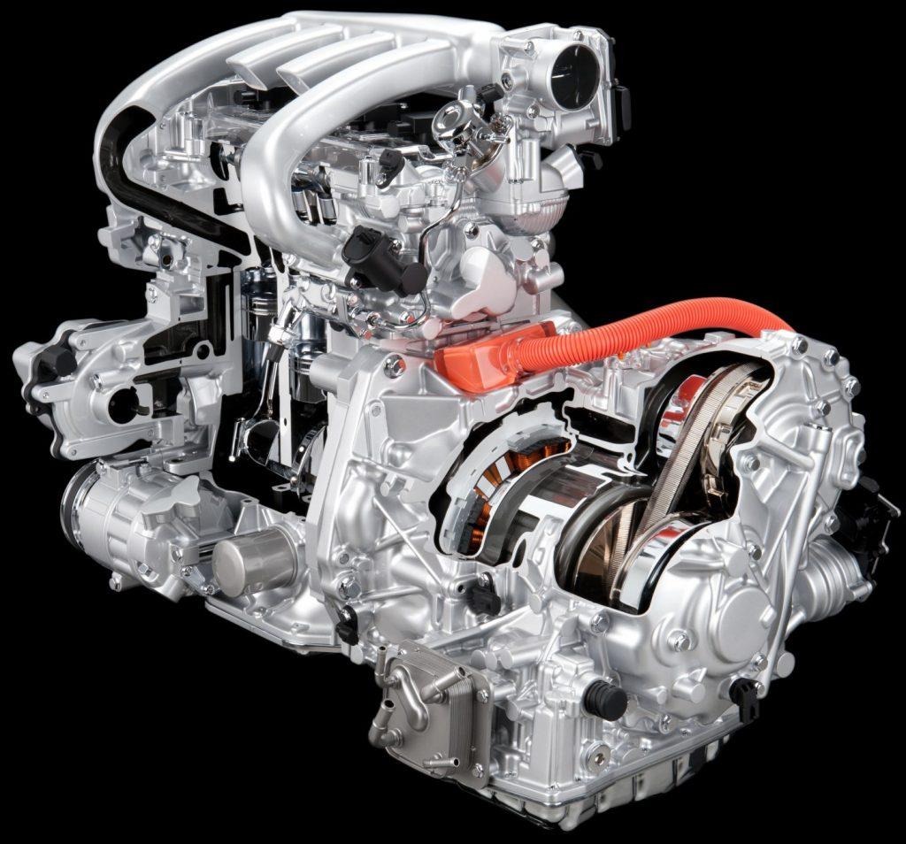 Гибридный силовой агрегат Nissan FF